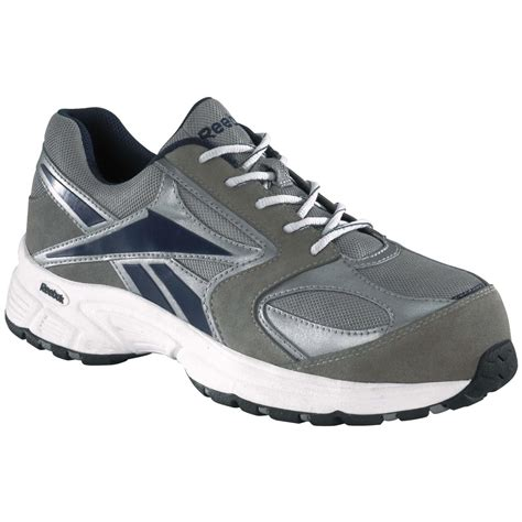composite toe running shoes s reebok 174 composite toe cross trainers gray blue