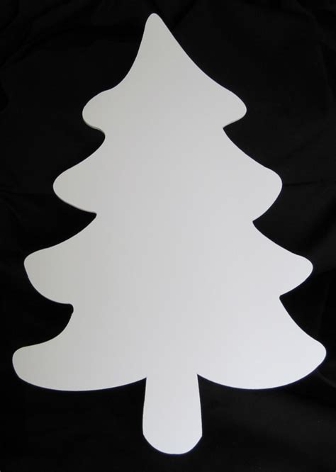 foam core christmas tree cut out