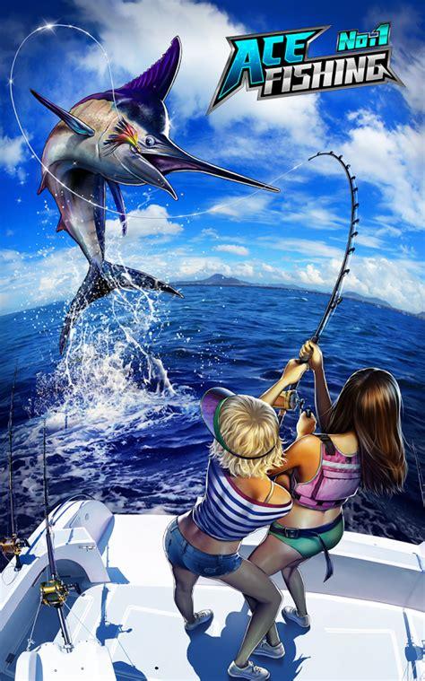 cara mod game ace fishing ace fishing wild catch screenshot rockthe3d