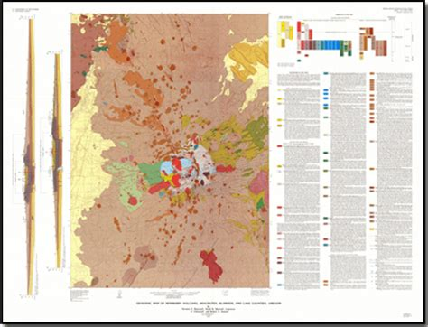 Pdf Of State Newberry by Geologic Map Of Newberry Volcano Deschutes Klamath And