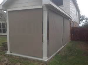 Patio Shades Exterior Roll Up Shades Home Design