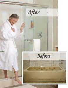 how to turn a bathtub into a shower 17 best images about bathroom on pinterest shower pan walk in tubs and diy shower