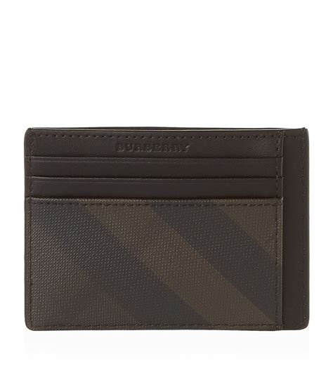 Burberry Gift Card - burberry smoke check leather card holder harrods com