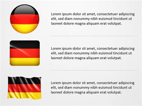 powerpoint layout germany germany flag icons powerpoint map slides germany flag
