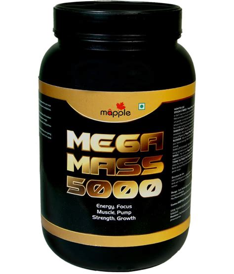 Protein Mass Grf Mega Mass 5000 Protein Supplement 300 Gms 5000 Buy
