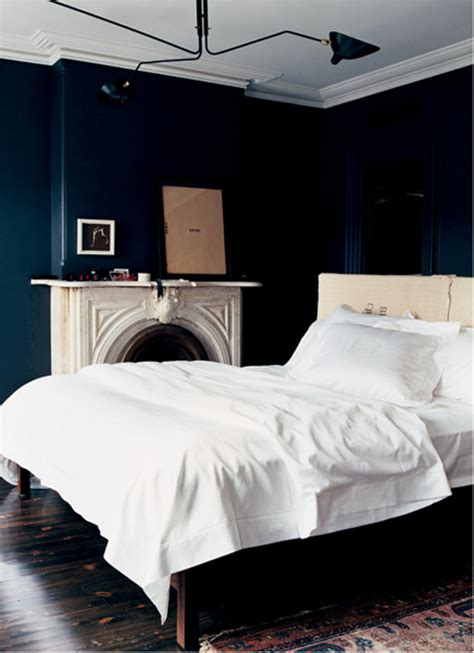 dark blue bedroom walls black walls the style files