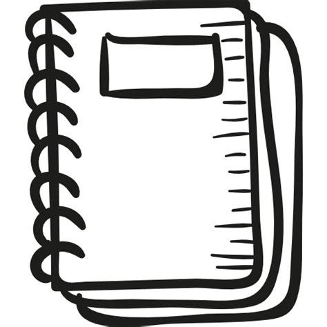 Drawing Notebook by Draw School Notebook Free Education Icons