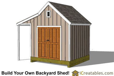 10×10 Garden Shed Plans