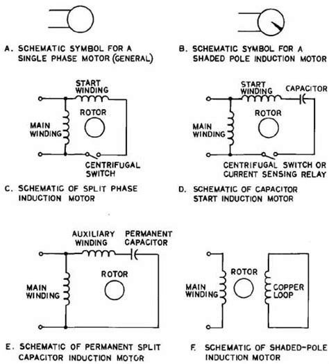 split phase motor schematic split get free image about
