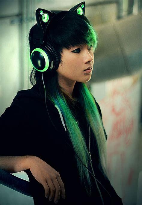 Headphone Axent Wear wonderful anime inspired cat ear headphones by axent wear