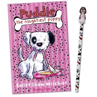 the puddle club books puddle the naughtiest puppy ballet show mischief
