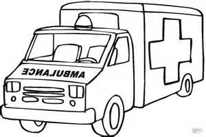 ausmalbild ambulanz rettungswagen ausmalbilder