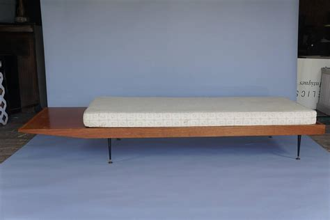long bench seat cushions mid century long bench with cushion for sale at 1stdibs