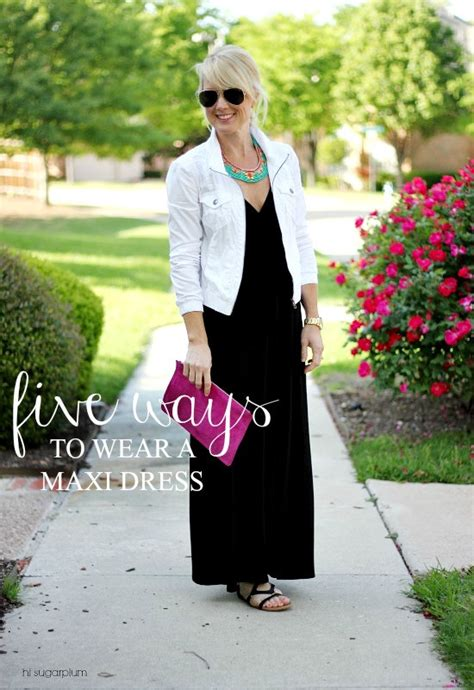 Jaket Five C Nel Elegance 5 ways to wear a maxi dress hi sugarplum