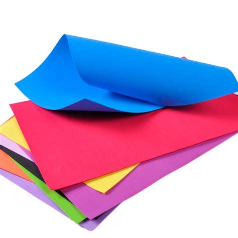 Foam Paper Craft - 10pcs foam sheets a4 handmade paper funky children