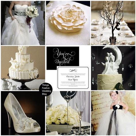 lq designs things festive wedding ivory black and white wedding theme warm sophistication