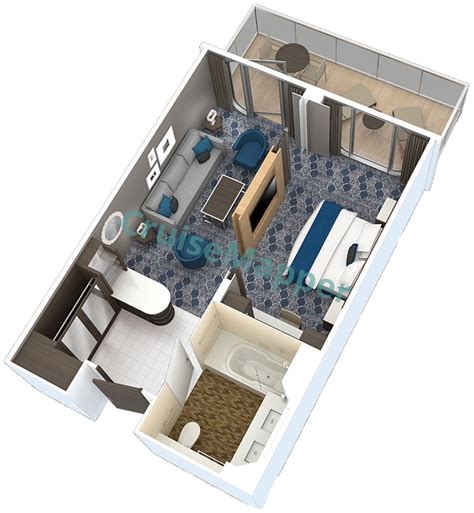 of the seas cabin layout harmony of the seas cabins and suites cruisemapper