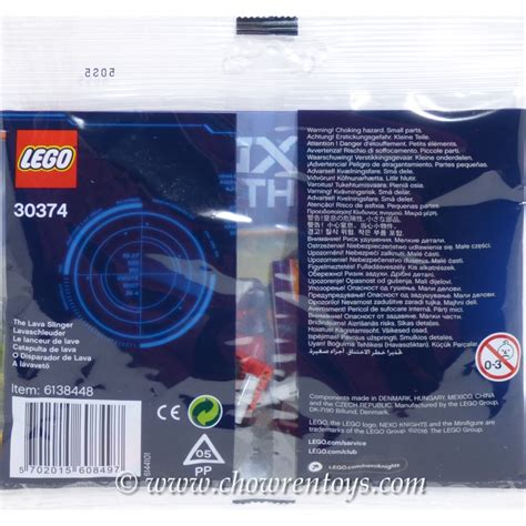 Lego 30374 Nexo Knights The Lava Slinger lego nexo knights sets 30374 the lava slinger new