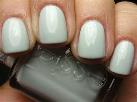 essie hair color essie absolutely shore perfect color for spring summer