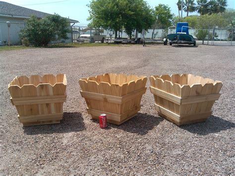 fence planter boxes cedar fence picket planter boxes by kirbi69 lumberjocks woodworking community