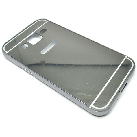 Aluminium Bumper With Mirror Back Cover For Samsung Gal Murah 1 aluminium bumper with mirror back cover for samsung galaxy