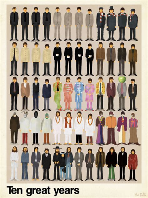 fashion illustration through the years 10 years of fashion with the beatles miss owl