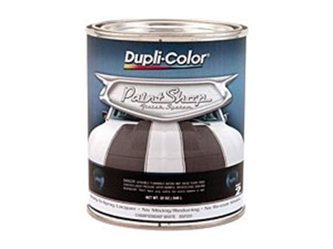 dupli color bsp201 chionship white paint shop finish system 32 oz vehicles parts vehicle