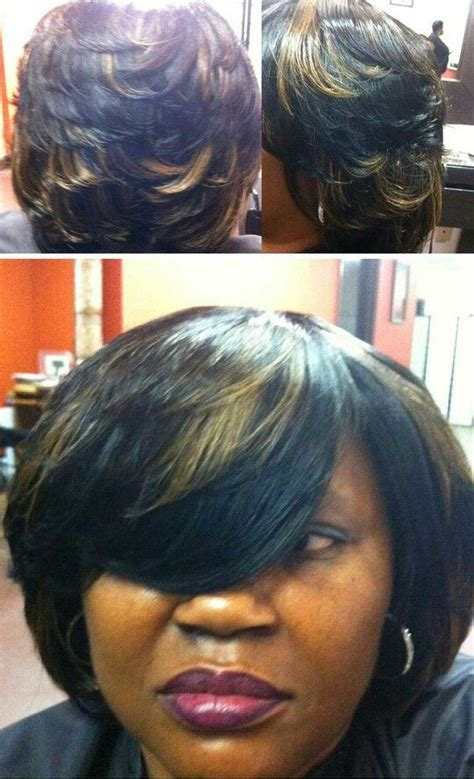 sew in layered bob pin by mysterrious on do that hair pinterest