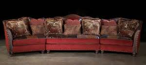 Upholstered Couches Sofas Red Sectional Sofa Couch Leather Patchwork