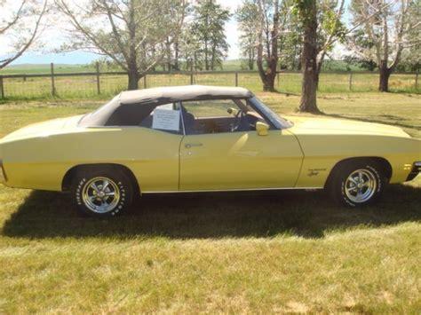1972 pontiac convertible for sale yellow 1972 pontiac le mans convertible 350 for sale