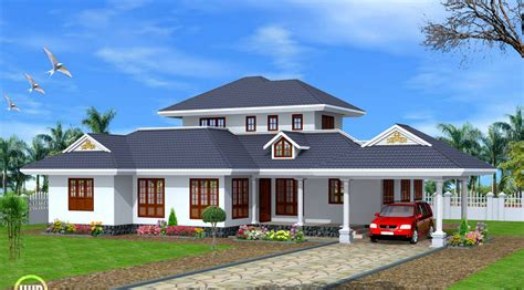 Simple Three Bedroom House Plan kerala single story house model home design