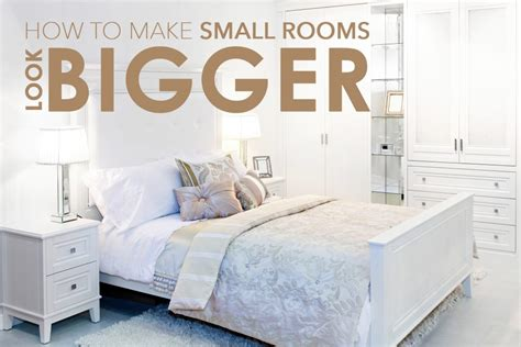 how to make small bedrooms look bigger make small rooms look bigger singapore furniture rental