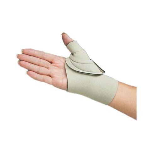 comfort cool thumb spica comfort cool thumb cmc restriction beige splint thumb
