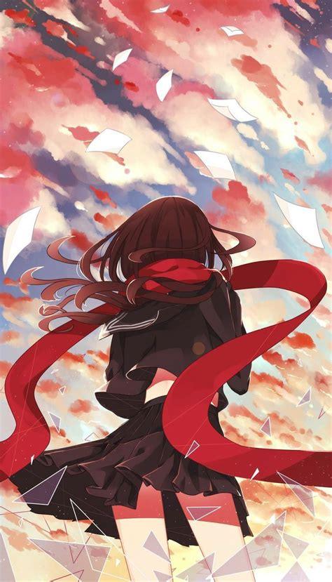 wallpaper anime mekakucity actors mekakucity actors ayano iphone wallpaper personal