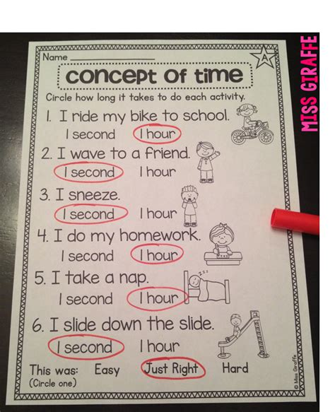 To Take A Year by Miss Giraffe S Class Telling Time In Grade