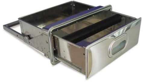 schublade edelstahl schublade zur tischmontage aus edelstahl mit schloss f 252 r