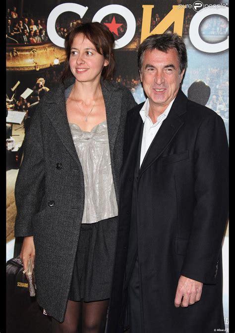 françois cluzet et son fils fran 231 ois cluzet et val 233 rie bonneton en octobre 2009