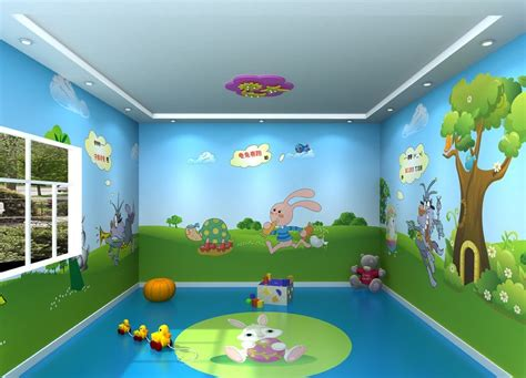 Decorative Wallpaper For Home by Sar Wall Decors Activity Room Painting