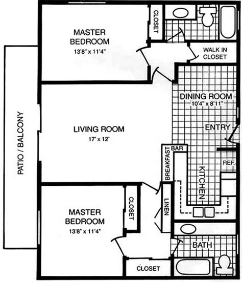 Floor Plans With Two Master Bedrooms Casa De Sol Dual Master Suite Floorplans