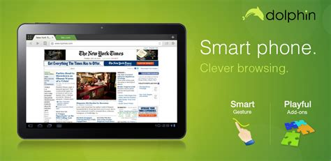 pad for android dolphin browser for android pad v1 0 now available softpedia