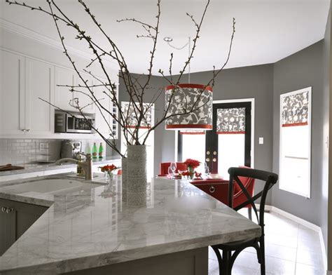 kitchen decorating ideas with red accents grey and yellow kitchen ideas gray kitchen cabinets shantung silhouette smoke contemporary kitchen