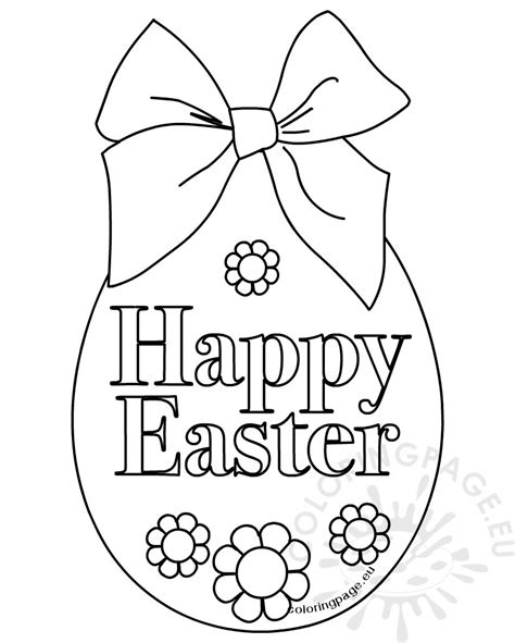 100 free printable easter egg coloring pages easter