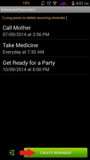 add reminder in android how to add reminders on android