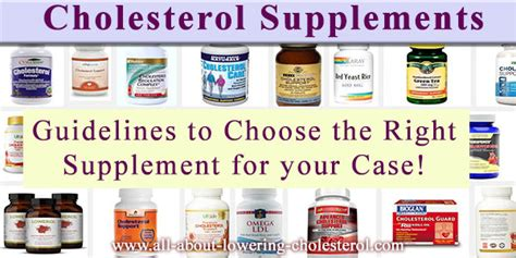 supplement to lower cholesterol cholesterol supplements that lower cholesterol without