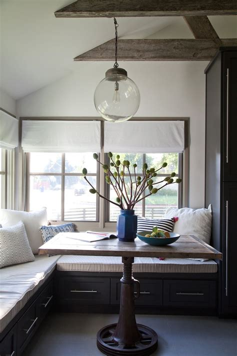 kitchen nook lighting when city country combine a rustic chic style is