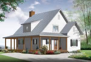 Beautiful House Plans Farmhouse #2: Drummond-House-Plans-Farmhouse-plan-3518-V1.jpg