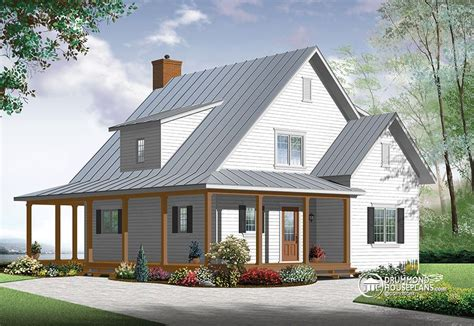 Country Style House Plans With Wrap Around Porches by New Beautiful Amp Small Modern Farmhouse Cottage