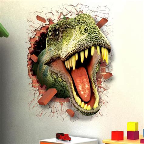Wallpaper Stiker Dinding 2 sticker wallpaper dinding dinosaurus jakartanotebook