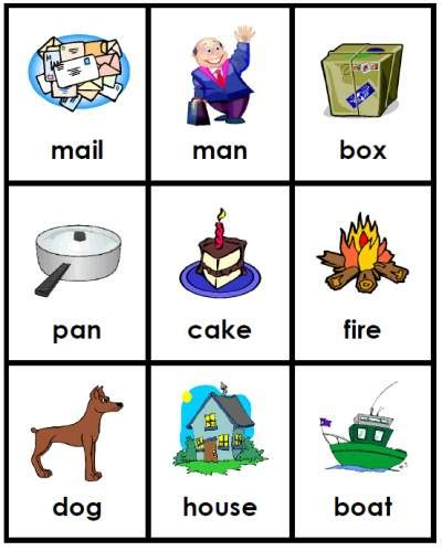 free printable cards for kindergarten 8 best images of printable compound word picture cards