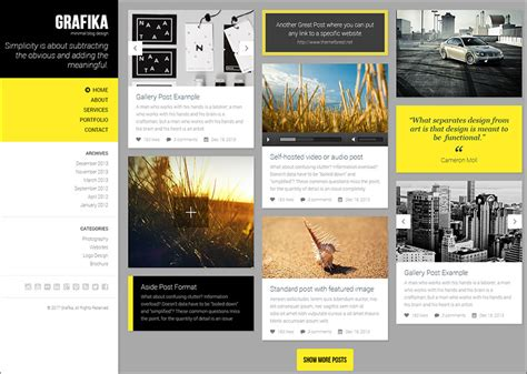 themes blogger html 14 photography blog themes free premium templates